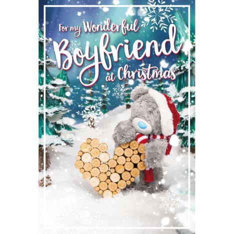 3D Holographic Wonderful Boyfriend Me to You Bear Christmas Card  £3.39