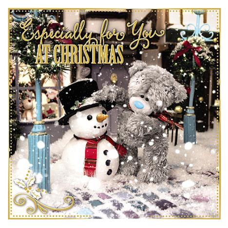 3D Holographic Especially For You Me to You Bear Christmas Card  £3.59