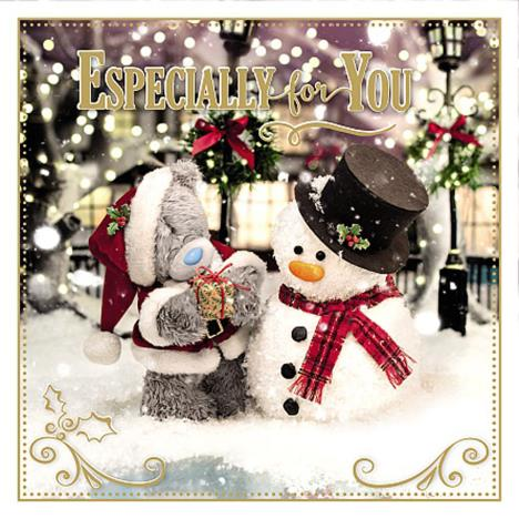 3D Holographic Especially For You Me to You Bear Christmas Card  £2.69