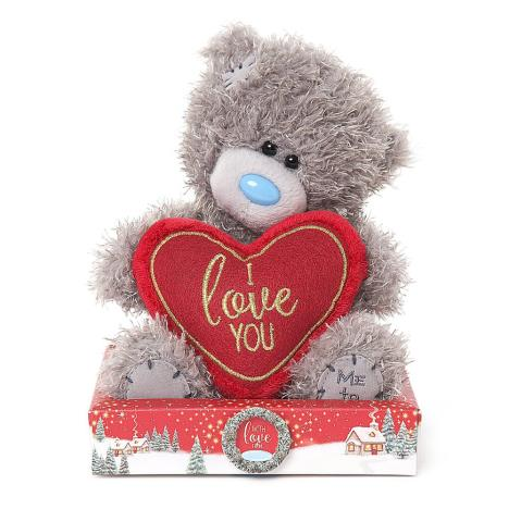 "7"" I Love You Padded Heart Me To You Bear  £9.99"