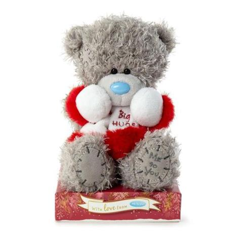 "7"" Big Hugs Scarf Me to You Bear  £9.99"
