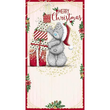 Merry Christmas Bear Stacking Gifts Me To You Bear Christmas Card  £2.19