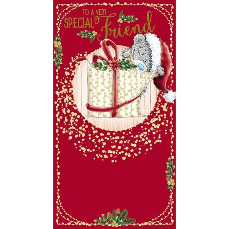 Special Friend Opening Present Me To You Bear Christmas Card  £2.19