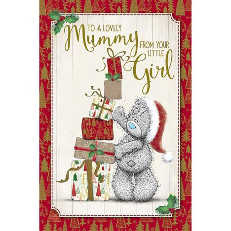 Mummy From Your Little Girl Me To You Bear Christmas Card  £1.89