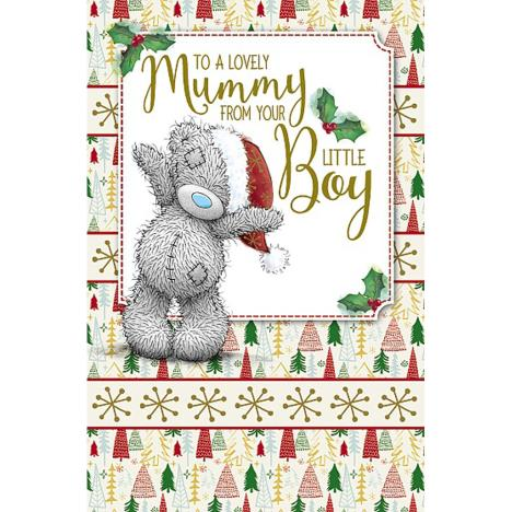Mummy From Your Little Boy Me To You Bear Christmas Card  £1.89