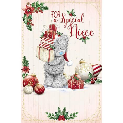 Special Niece Me To You Bear Christmas Card   £1.89