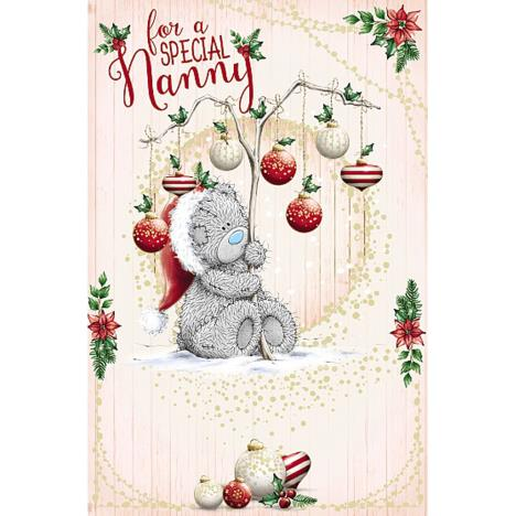 Special Nanny Me To You Bear Christmas Card  £1.89