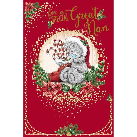 Special Great Nan Me To You Bear Christmas Card  £1.89