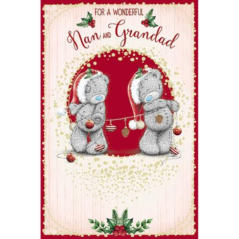 Wonderful Nan & Grandad Me To You Bear Christmas Card  £1.89