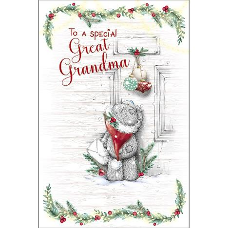 Great Grandma Me to You Bear Christmas Card  £1.89