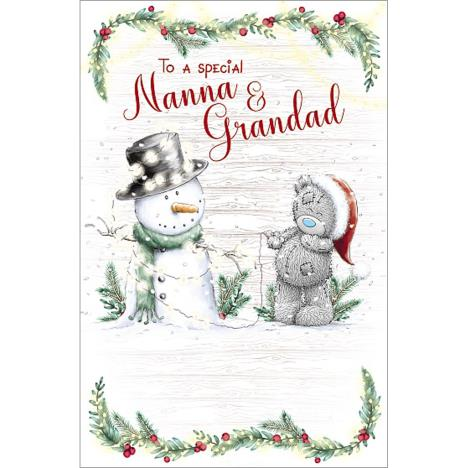 Nanna & Grandad Me to You Bear Christmas Card  £1.89