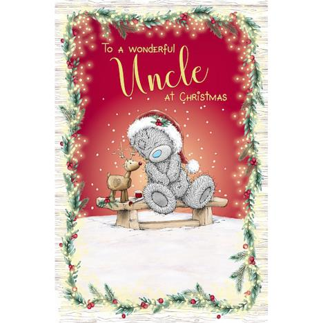 Wonderful Uncle Me to You Bear Christmas Card  £1.89