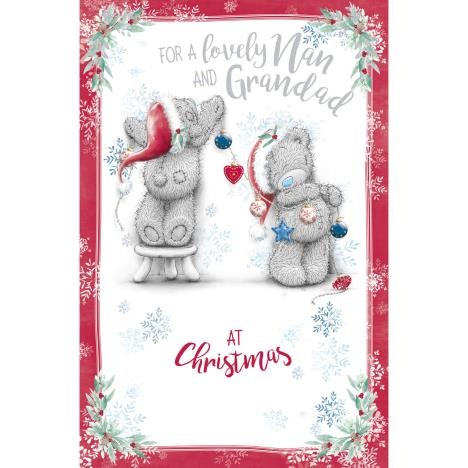 Lovely Nan & Grandad Me to You Bear Christmas Card  £1.89