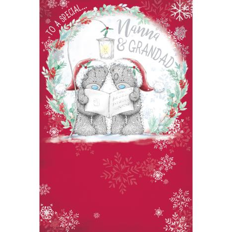 Special Nanna & Grandad Me to You Bear Christmas Card  £1.89