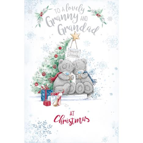 Lovely Granny & Grandad Me to You Bear Christmas Card  £1.89