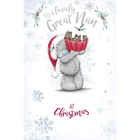 Lovely Great Nan Me to You Bear Christmas Card  £1.89