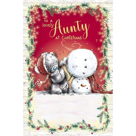 Lovely Aunty Me to You Bear Christmas Card  £1.89