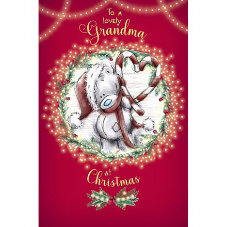 Lovely Grandma Me to You Bear Christmas Card  £1.89