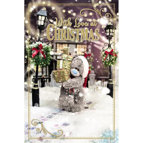 Tatty Teddy Carrying Presents Photo Finish Me to You Bear Christmas Card  £1.89