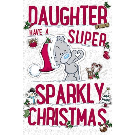Daughter My Dinky Me To You Bear Christmas Card  £1.89