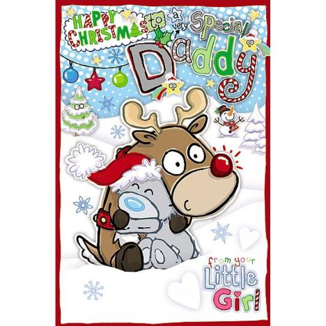 Daddy From Little Girl My Dinky Me to You Bear Christmas Card  £1.89