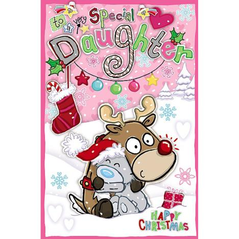 Special Daughter My Dinky Me to You Bear Christmas Card  £1.89