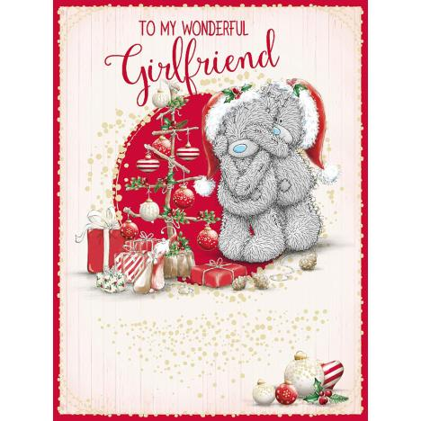 Wonderful Girlfriend Large Me to You Bear Christmas Card  £3.59
