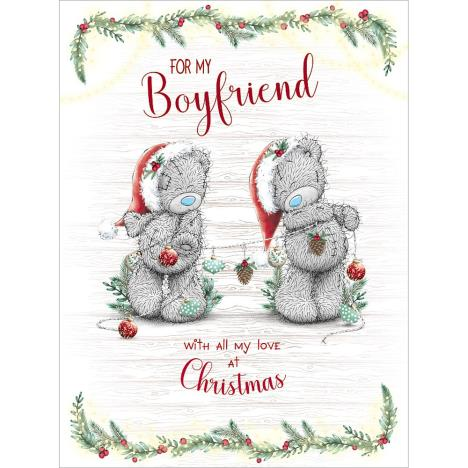 Boyfriend Large Me to You Bear Christmas Card  £3.59