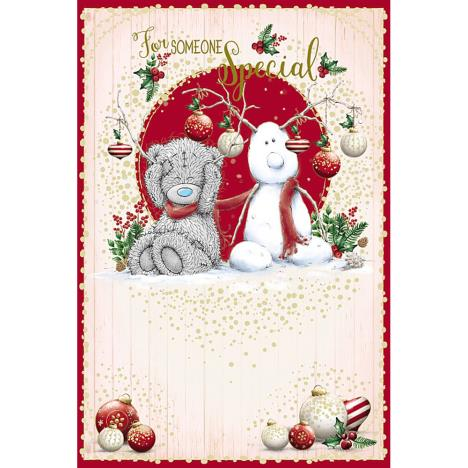Someone Special Me To You Bear Christmas Card  £2.49