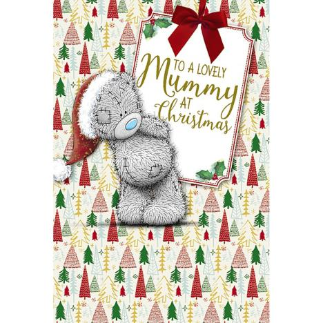 Lovely Mummy Me To You Bear Christmas Card  £3.59