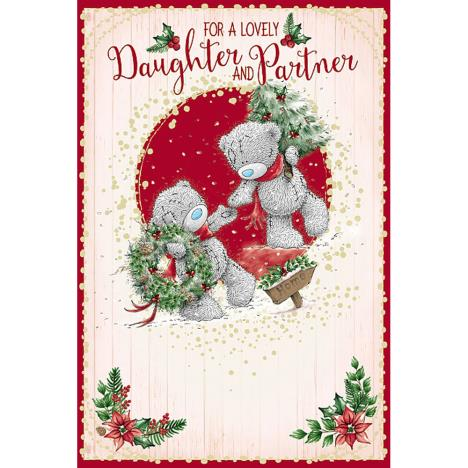 Lovely Daughter & Partner Me To You Bear Christmas Card  £2.49