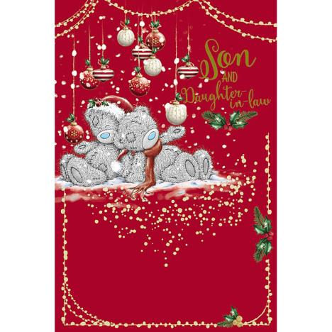 Son & Daughter In Law Me To You Bear Christmas Card  £3.59