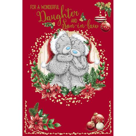 Wonderful Daughter & Son In Law Me To You Bear Christmas Card  £3.59