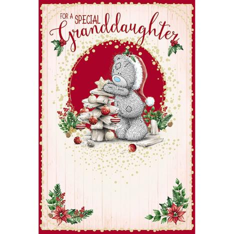 Special Granddaughter Me To You Bear Christmas Card  £3.59