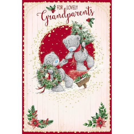 Lovely Grandparents Me To You Bear Christmas Card  £3.59