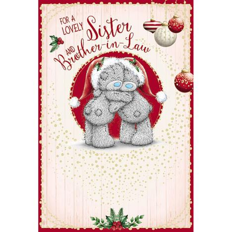 Sister & Brother In Law Me To You Bear Christmas Card  £3.59