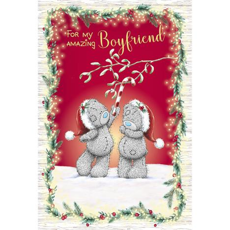 Amazing Boyfriend Me to You Bear Christmas Card  £2.49