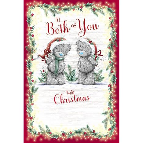 To Both Of You Me to You Bear Christmas Card  £3.59