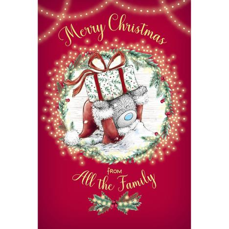 From All The Family Me to You Bear Christmas Card  £2.49