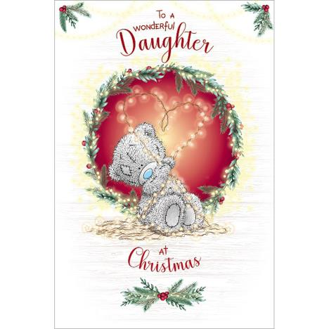 Wonderful Daughter Me to You Bear Christmas Card  £3.59