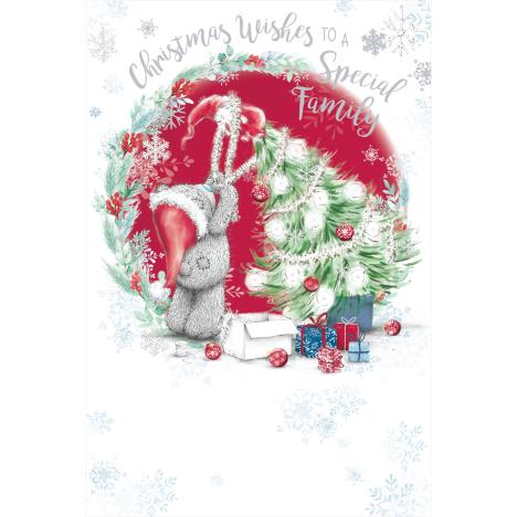 Special Family Me To You Bear Christmas Card  £3.59
