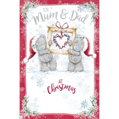 For Mum & Dad Me to You Bear Christmas Card  £3.59