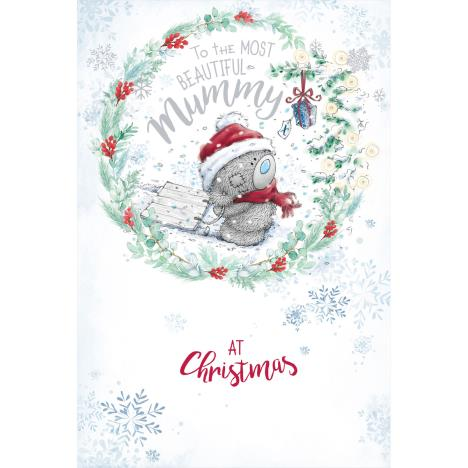 Beautiful Mummy Me to You Bear Christmas Card  £3.59