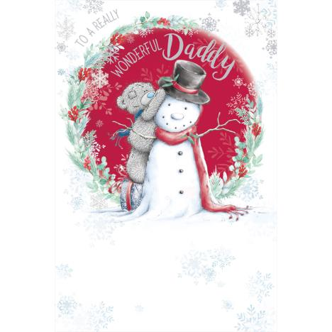 Wonderful Daddy Me to You Bear Christmas Card  £3.59