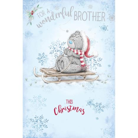 Wonderful Brother Me to You Bear Christmas Card  £2.49