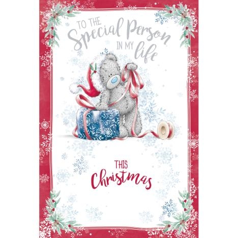Special Person In My Life Me to You Bear Christmas Card  £3.59