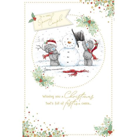 Very Special Couple Me to You Bear Christmas Card  £2.49