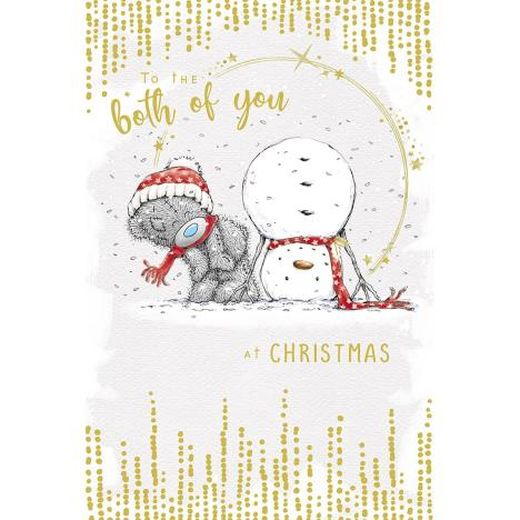 To The Both Of You Me to You Bear Christmas Card  £3.59