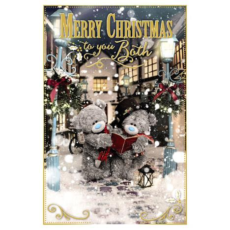 To You Both Photo Finish Me To You Bear Christmas Card  £2.49