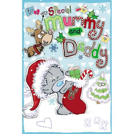 Special Mummy & Daddy My Dinky Me to You Bear Christmas Card  £2.49